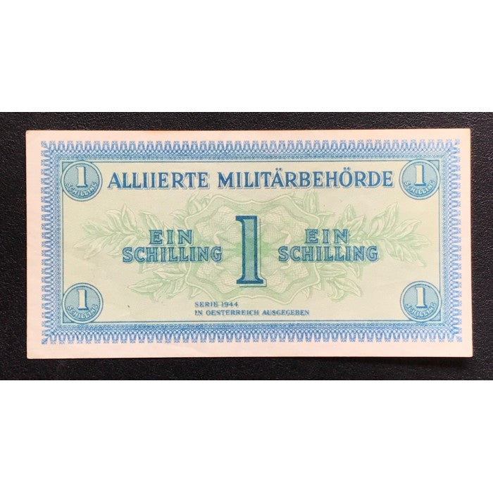 Allied Occupation Currency WWII - Austria 1944 1 Schilling UNC