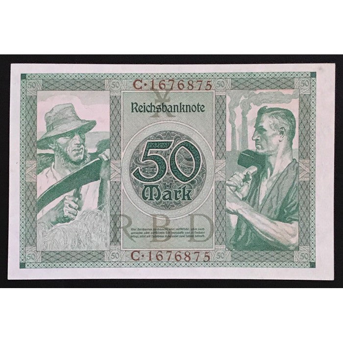 Germany 1920 Reichsbanknote 50 Mark