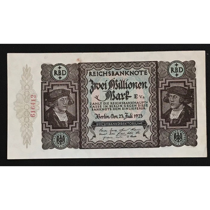 Germany 1923 Reichsbanknote 2 Millionen Mark
