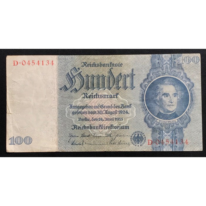 Germany 1935 (1945) 100 Reichsmark