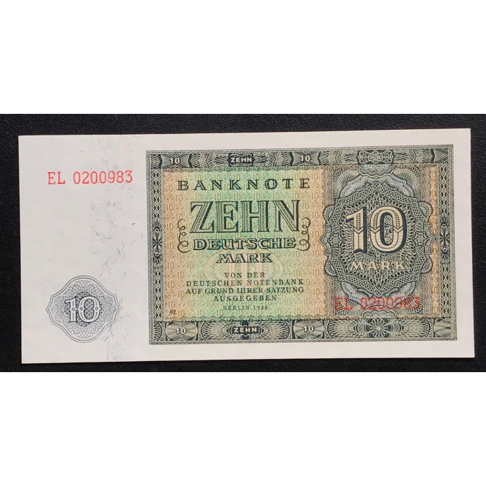 Germany, Democratic Republic 1948 10 Deutsche Mark