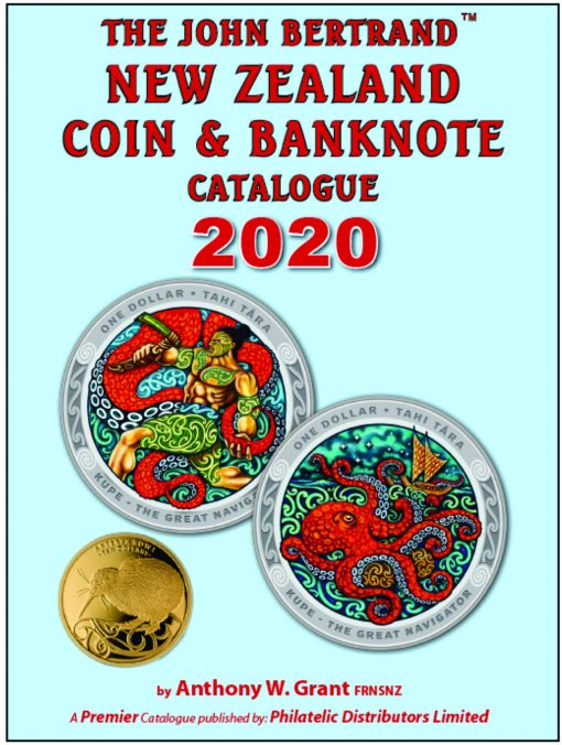 The John Bertrand New Zealand Coin & Banknote Catalogue 2017