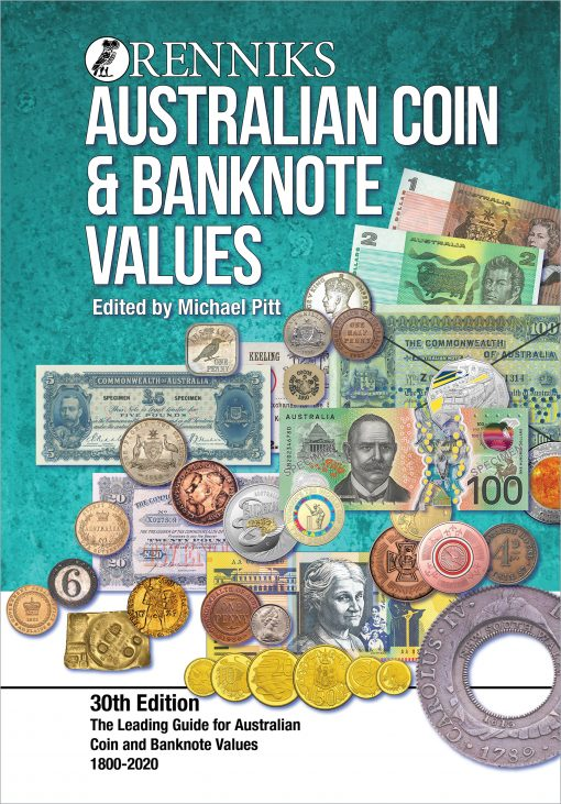 Renniks Australian Coin and Banknote Values Guide 30th Edition NOW IN STOCK!