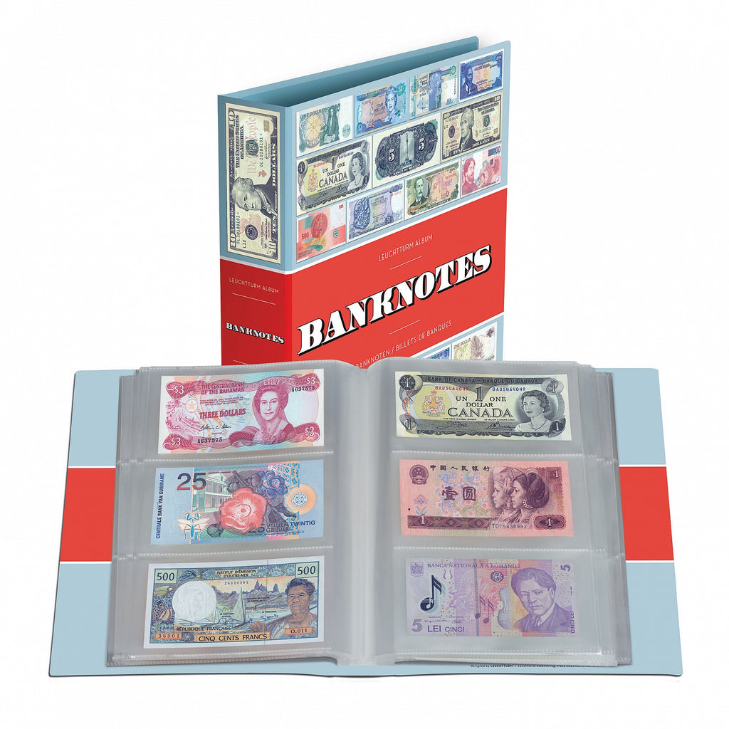 Lighthouse Banknotes Album for 300 Notes