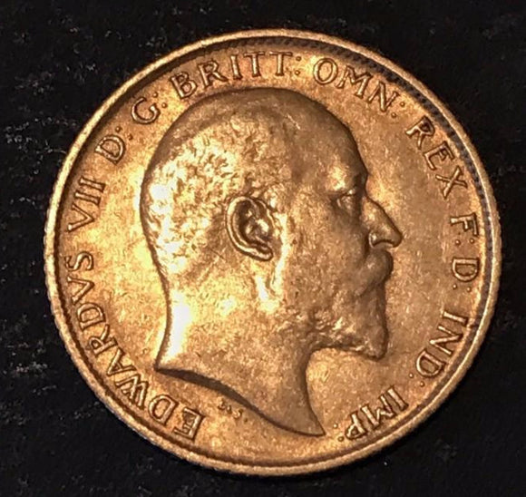 1910 Half Sovereign Gold Coin