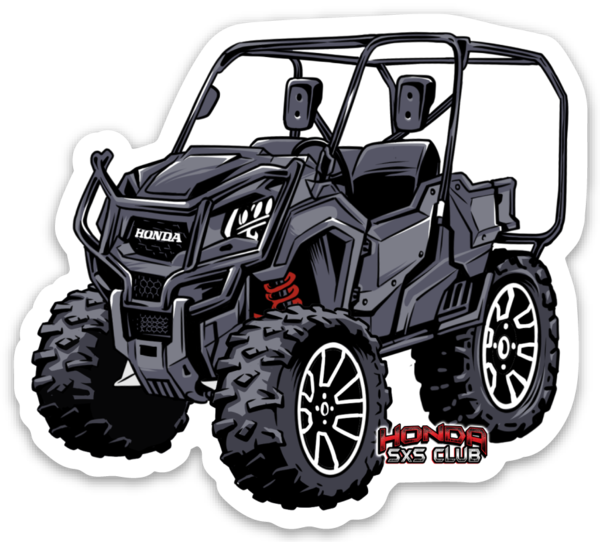 Honda Pioneer 1000-5 LE Sticker or Fridge Magnet - Free Shipping!