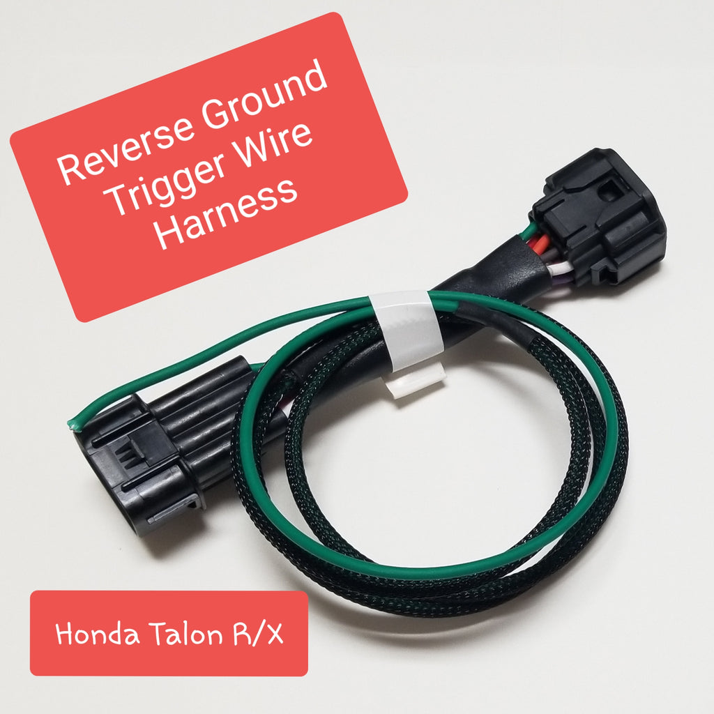Honda Talon 1000 Reverse Ground Trigger Wire Harness!