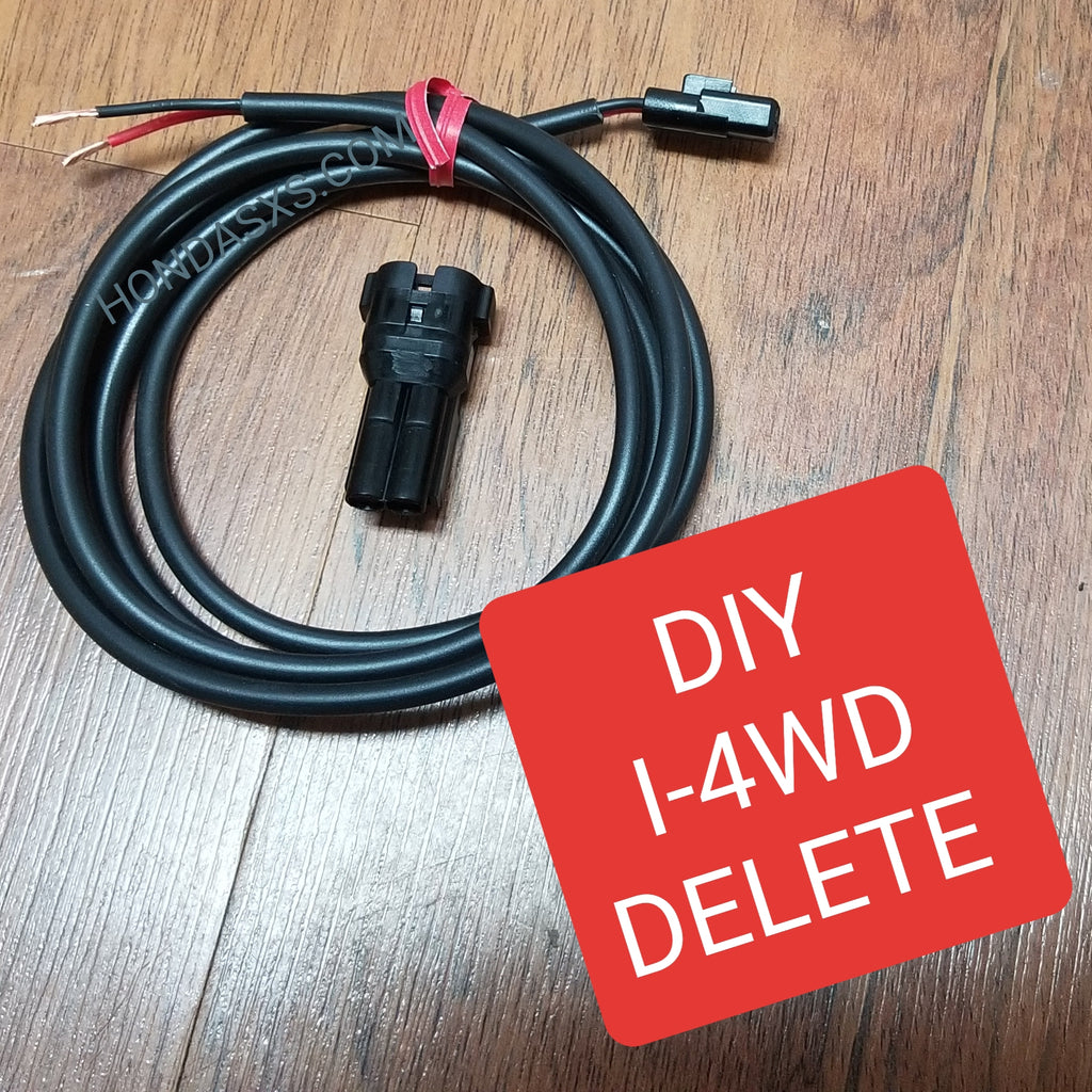 DIY - I4wd Delete/Bypass wire kit for Honda Talon.