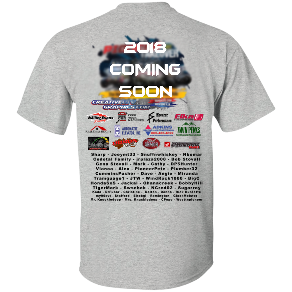 2021 PIONEER TAKEOVER - SILVER SPONSOR - Name W/SHIRT