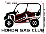 Pioneer 1000-5, 1000-3 Vinyl Decal - With Your own Custom TEXT!