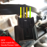 IACV connector for Honda SxS/UTV Honda Pioneer!