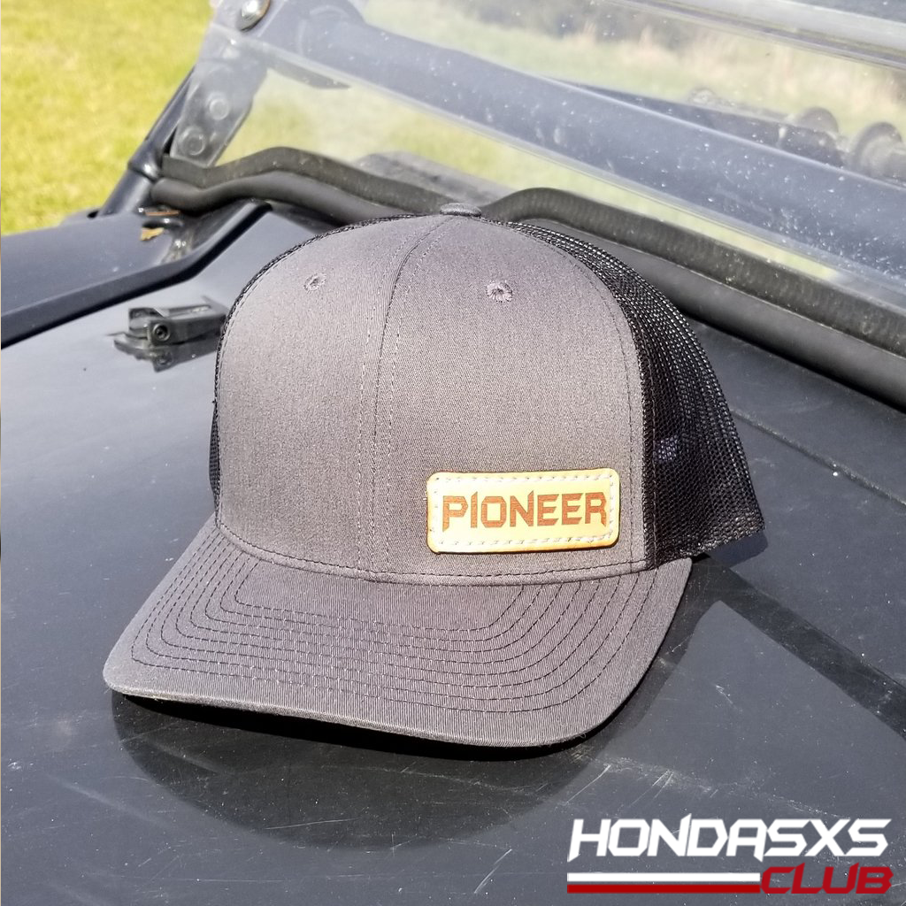 Pioneer Leather Badge Cap - NEW, Limited stock!