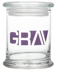 12oz Gravitron Glass Jar