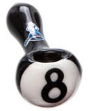 Eight Ball Glass Pipe