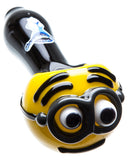 Minion Themed Glass Pipe