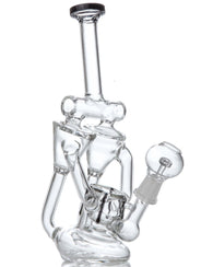 """Twincycler"" Dual Chamber Inline Perc Recycler"