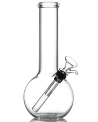 Clear Glass Basic Water Pipe