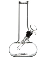 Clear Glass Buoy Base Beaker Bong