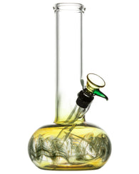 Raked Bubble Beaker Bong w/ Fumed Base