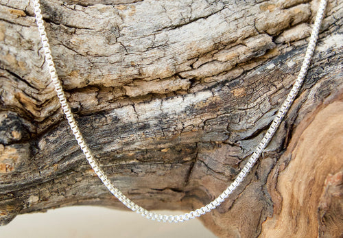 Box Sterling Silver Chain