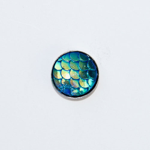 Mermaid Scale - Blue - Tiny Tude