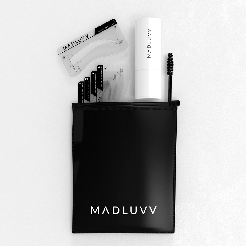 Tutorials and Answers to Frequently Asked Questions About Your New Madluvv Brow Stamp