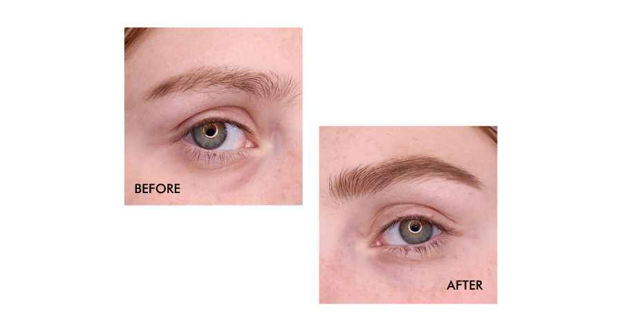 Creating The Perfect Eyebrows in seconds with Brow Stamp