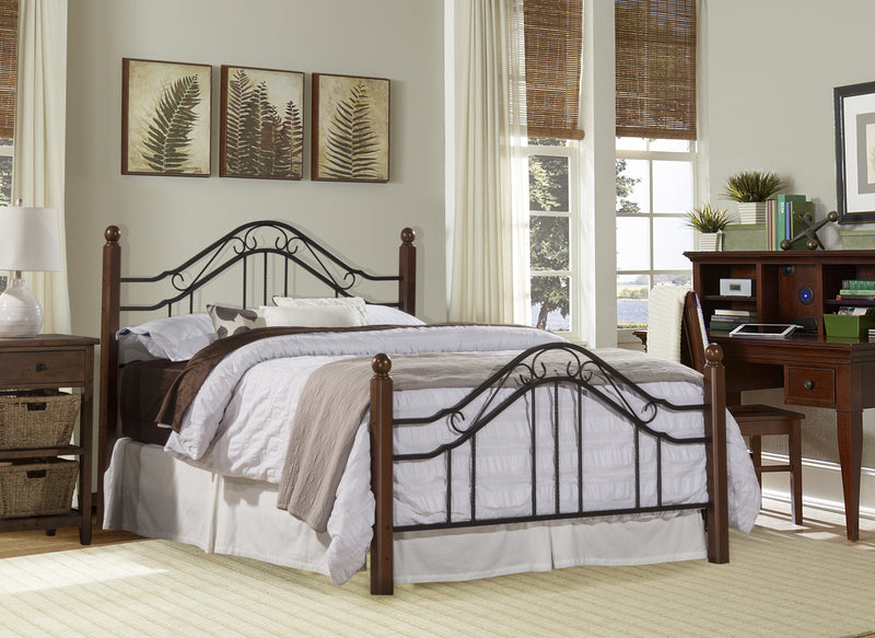 1010 Madison Bed Set - Full- w/Rails - Free Shipping!, Hillsdale Bedroom, Hillsdale Furniture, - ReeceFurniture.com - Free Local Pick Ups: Frankenmuth, MI, Indianapolis, IN, Chicago Ridge, IL, and Detroit, MI
