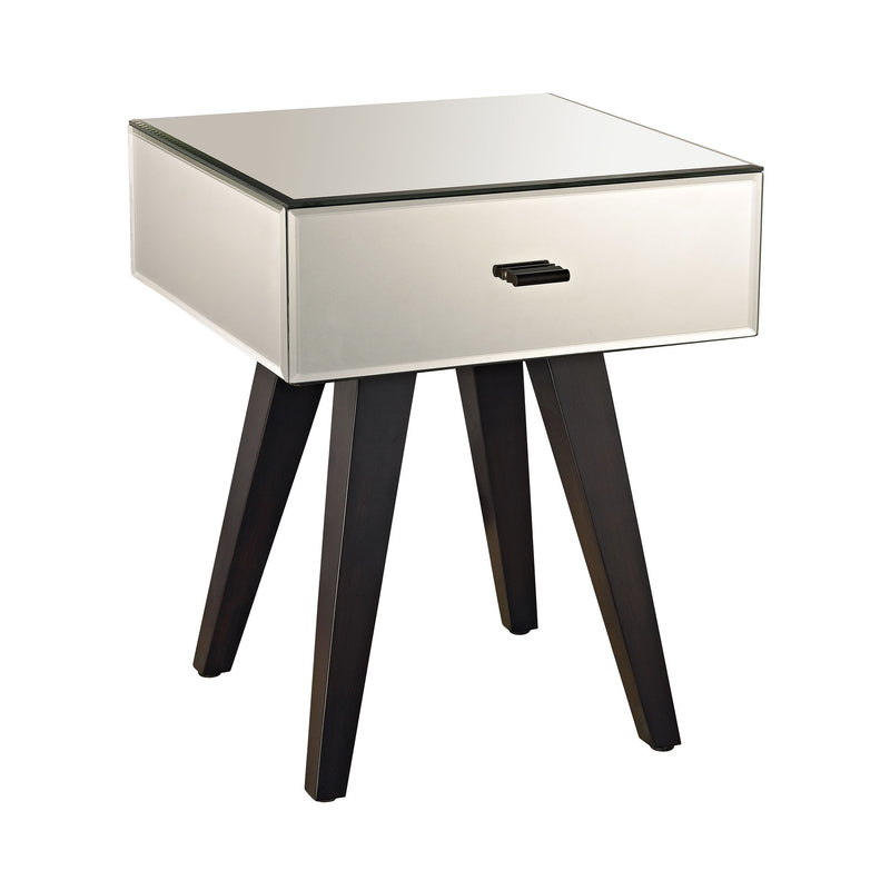 1114-152 Modern Mirror Leg Side Table - Free Shipping! Table - RauFurniture.com