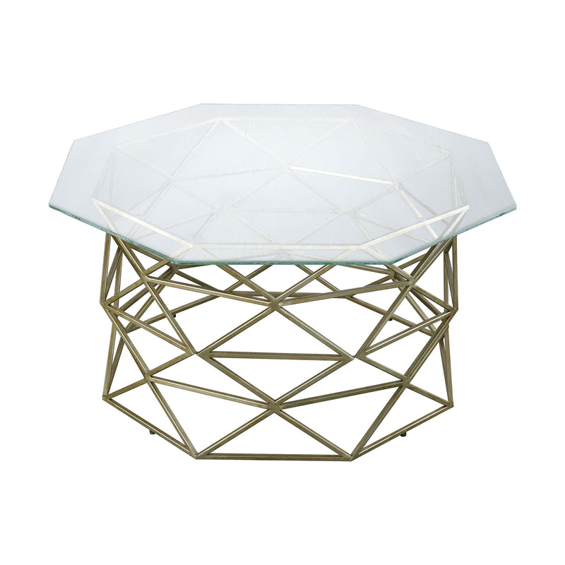 1114-263 Bracelet Angular Coffee Table - Free Shipping! Table - RauFurniture.com