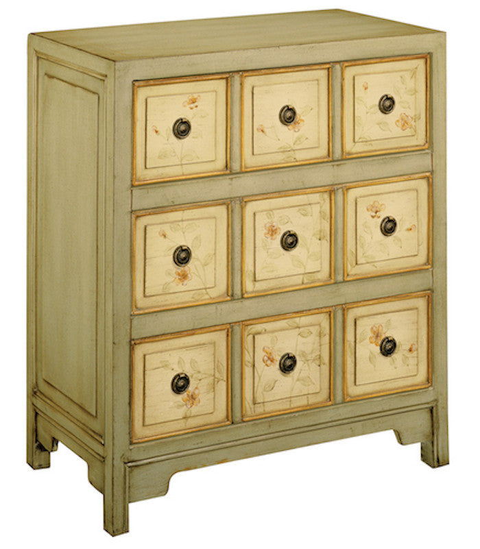 11312 - Apothecary Style Three Drawer Accent Chest - Free Shipping! - Free Shipping!, Accent Chests, Stein World, - ReeceFurniture.com - Free Local Pick Ups: Frankenmuth, MI, Indianapolis, IN, Chicago Ridge, IL, and Detroit, MI