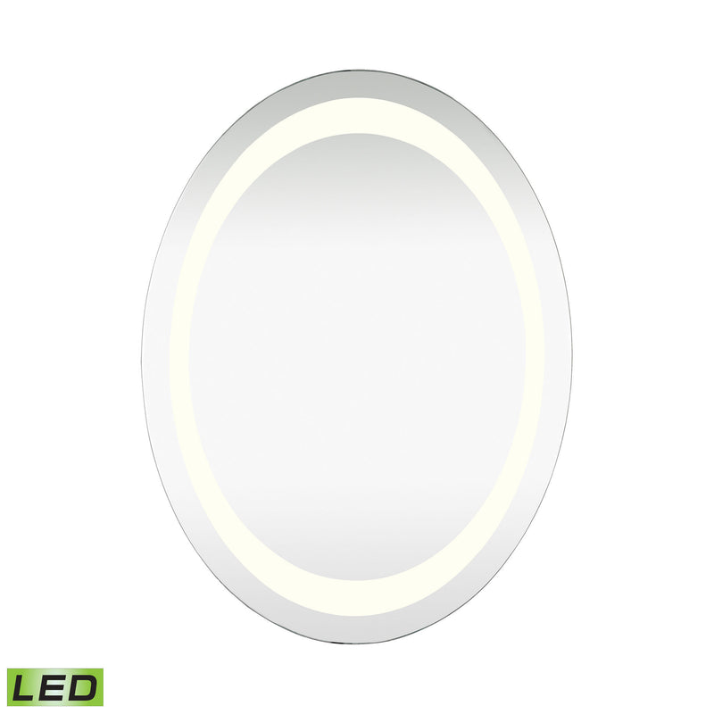 1179-006 Oval LED Mirror - Free Shipping! Mirror - RauFurniture.com