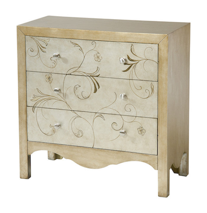 12365 - Shannon Three Drawer Accent Chest - Free Shipping!, Accent Chests, Stein World, - ReeceFurniture.com - Free Local Pick Ups: Frankenmuth, MI, Indianapolis, IN, Chicago Ridge, IL, and Detroit, MI
