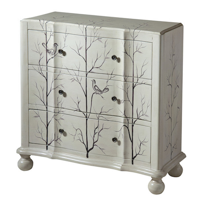 12416 - Beatrice Three Drawer Chest - Free Shipping!, Accent Chests, Stein World, - ReeceFurniture.com - Free Local Pick Ups: Frankenmuth, MI, Indianapolis, IN, Chicago Ridge, IL, and Detroit, MI