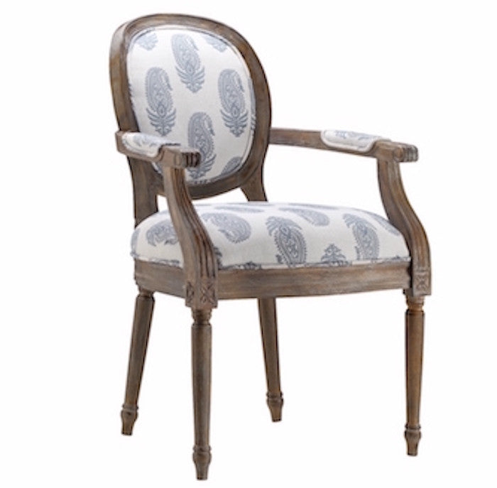 12939 - Accent Chair w/New Delhi Royal Fabric - Free Shipping!, Accent Chairs, Stein World, - ReeceFurniture.com - Free Local Pick Ups: Frankenmuth, MI, Indianapolis, IN, Chicago Ridge, IL, and Detroit, MI