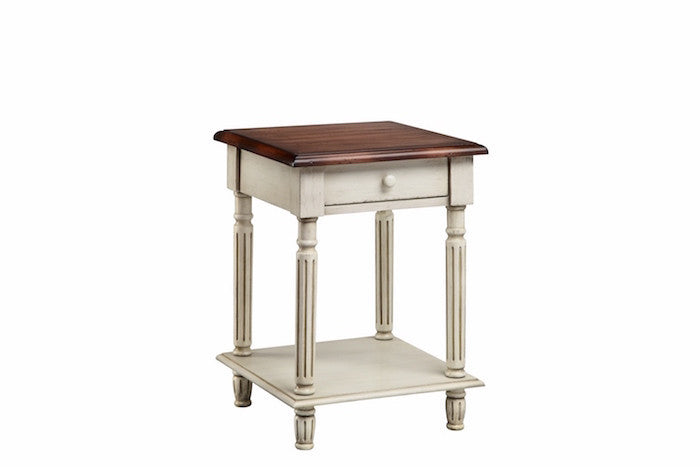 13165 - Emeric Dual Color Contrasting Accent Table - Free Shipping!, Accent Tables, Stein World, - ReeceFurniture.com - Free Local Pick Ups: Frankenmuth, MI, Indianapolis, IN, Chicago Ridge, IL, and Detroit, MI