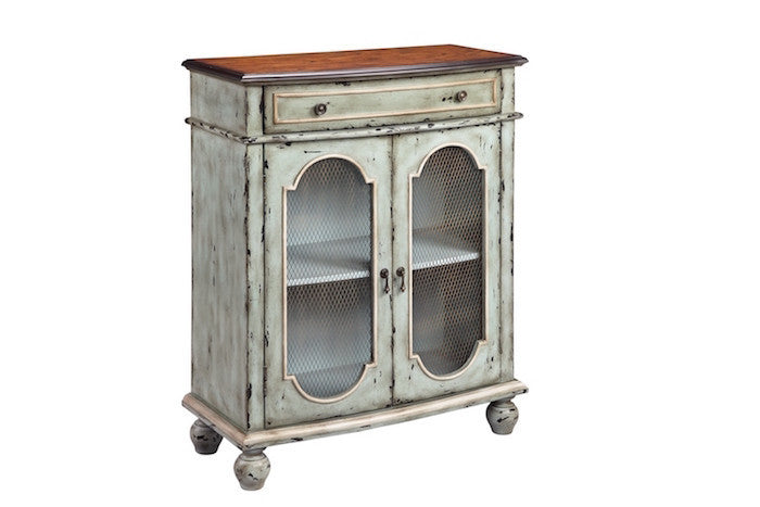 13257 - Andria  Two Door, One Drawer Accent Cabinet - Free Shipping!, Accent Cabinets, Stein World, - ReeceFurniture.com - Free Local Pick Ups: Frankenmuth, MI, Indianapolis, IN, Chicago Ridge, IL, and Detroit, MI