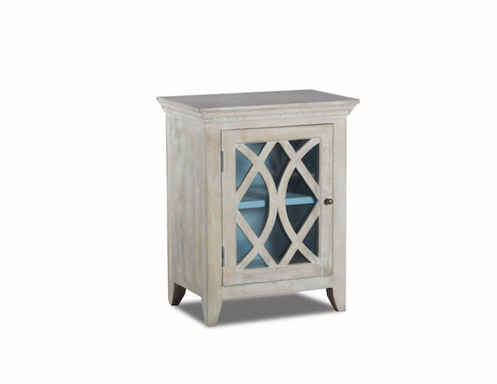 13290 - Blanche One-Door Cabinet - Free Shipping!, Accent Cabinets, Stein World, - ReeceFurniture.com - Free Local Pick Ups: Frankenmuth, MI, Indianapolis, IN, Chicago Ridge, IL, and Detroit, MI