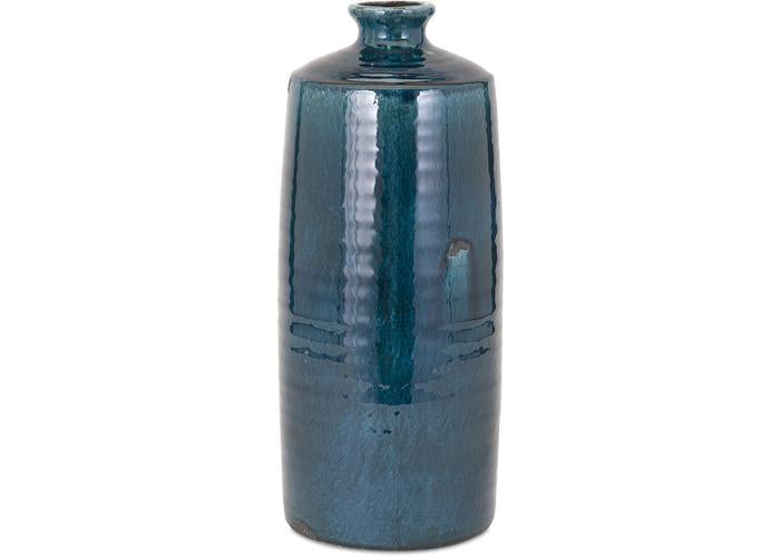 Arlo Large Blue Vase - Free Shipping!, Vases, IMAX, - ReeceFurniture.com - Free Local Pick Ups: Frankenmuth, MI, Indianapolis, IN, Chicago Ridge, IL, and Detroit, MI