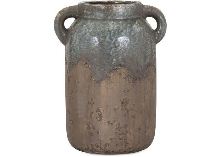 Bardot Large Blue Stone Ceramic Vase - Free Shipping!, Vases, IMAX, - ReeceFurniture.com - Free Local Pick Ups: Frankenmuth, MI, Indianapolis, IN, Chicago Ridge, IL, and Detroit, MI