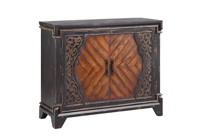 13332 - Rayne Black Accent Cabinet - Free Shipping!, Accent Cabinets, Stein World, - ReeceFurniture.com - Free Local Pick Ups: Frankenmuth, MI, Indianapolis, IN, Chicago Ridge, IL, and Detroit, MI