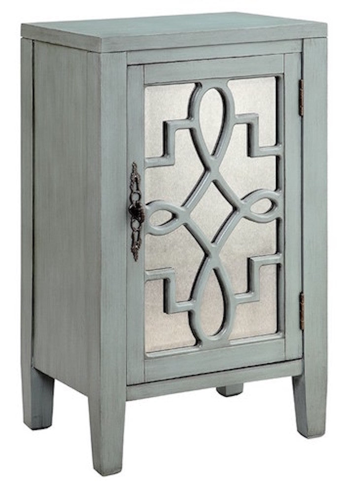 13515 - Leighton One Door Accent Cabinet - Free Shipping!, Accent Cabinets, Stein World, - ReeceFurniture.com - Free Local Pick Ups: Frankenmuth, MI, Indianapolis, IN, Chicago Ridge, IL, and Detroit, MI