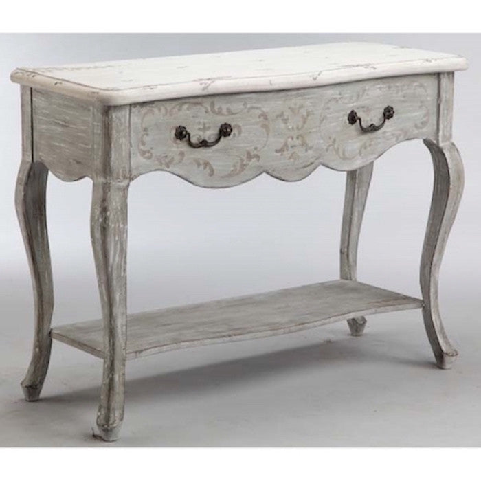 13615 - Dedra One Drawer Accent Console - Free Shipping!, Accent Consoles, Stein World, - ReeceFurniture.com - Free Local Pick Ups: Frankenmuth, MI, Indianapolis, IN, Chicago Ridge, IL, and Detroit, MI