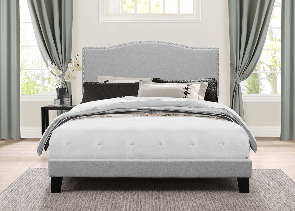 2011-460 Kiley Bed in One - Full - Glacier Gray Fabric, Hillsdale Bed Set, Hillsdale Furniture, - ReeceFurniture.com - Free Local Pick Ups: Frankenmuth, MI, Indianapolis, IN, Chicago Ridge, IL, and Detroit, MI