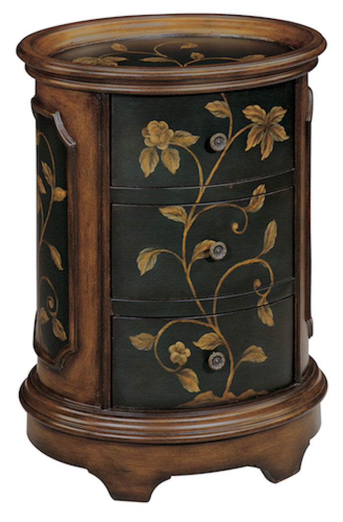 42527 - Ophelia Three Drawer Accent Table - Free Shipping!, Accent Tables, Stein World, - ReeceFurniture.com - Free Local Pick Ups: Frankenmuth, MI, Indianapolis, IN, Chicago Ridge, IL, and Detroit, MI