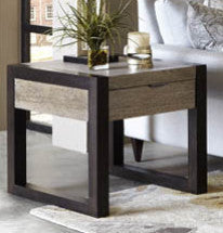 4660 Helix - Rectangular End Table, Living Room Tables, Legacy Classic Furniture, - ReeceFurniture.com - Free Local Pick Ups: Frankenmuth, MI, Indianapolis, IN, Chicago Ridge, IL, and Detroit, MI