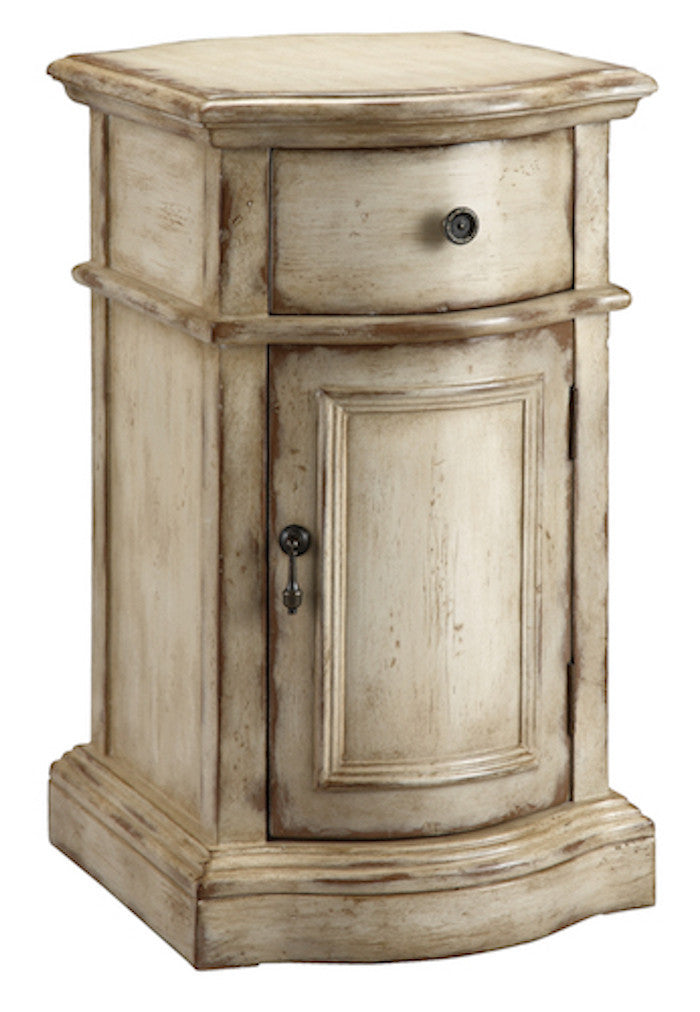 57272 - Heidi One Door, One Drawer Accent Cabinet - Free Shipping!, Accent Cabinets, Stein World, - ReeceFurniture.com - Free Local Pick Ups: Frankenmuth, MI, Indianapolis, IN, Chicago Ridge, IL, and Detroit, MI