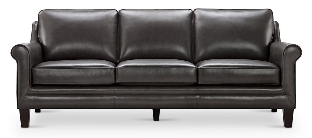 6538 Andover RX143 Grey Top Grain Leather Furniture - RauFurniture.com