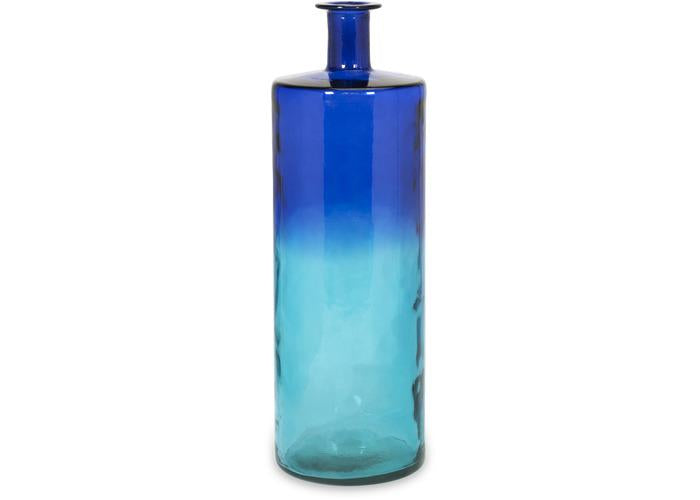 Luzon Tall Oversized Recycled Glass Vase - Free Shipping!, Vases, IMAX, - ReeceFurniture.com - Free Local Pick Ups: Frankenmuth, MI, Indianapolis, IN, Chicago Ridge, IL, and Detroit, MI