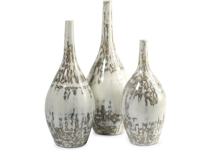 Hampton Mexican Pottery Vases - Set of 3 - Free Shipping!, Vases, IMAX, - ReeceFurniture.com - Free Local Pick Ups: Frankenmuth, MI, Indianapolis, IN, Chicago Ridge, IL, and Detroit, MI